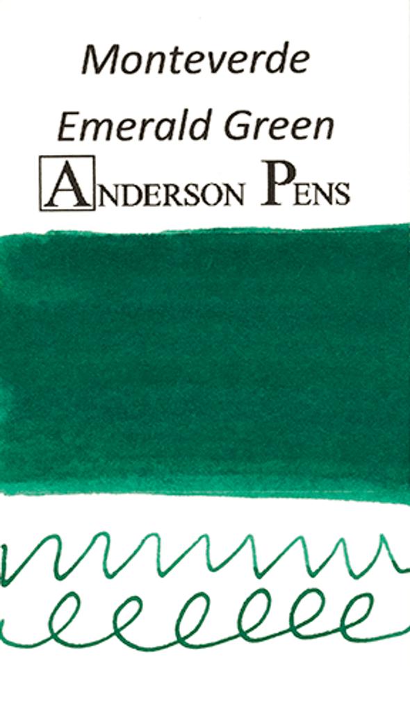 Monteverde Emerald Green Ink Sample (3ml Vial)
