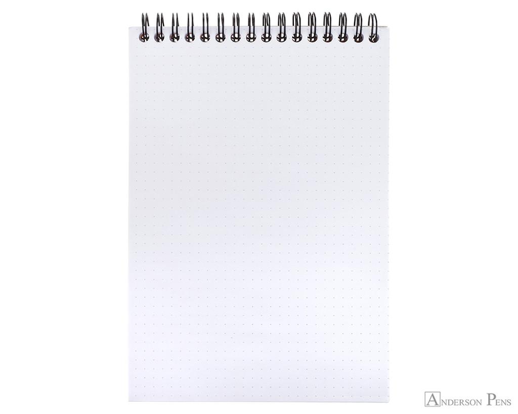 Rhodia No. 16 Wirebound Notepad - A5, Dot Grid - Orange open