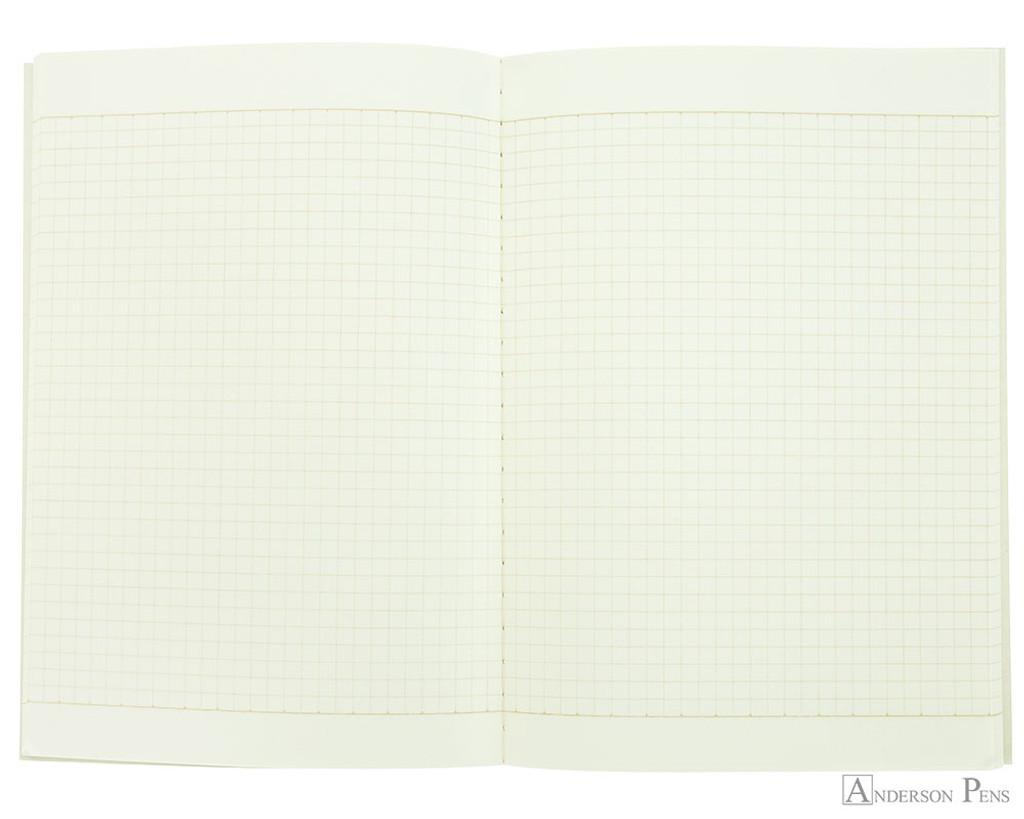 Life Kappan Notebook - A5 (6 x 8), Graph Paper - Open