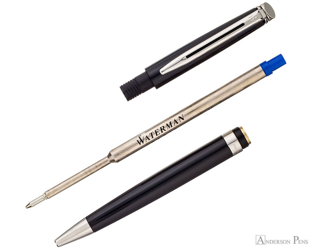 Waterman Hemisphere Ballpoint - Black with Chrome Trim - Parted OUt