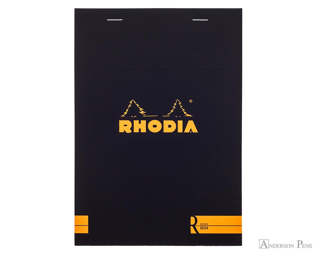 Rhodia No. 16 Premium Notepad - A5, Lined - Black