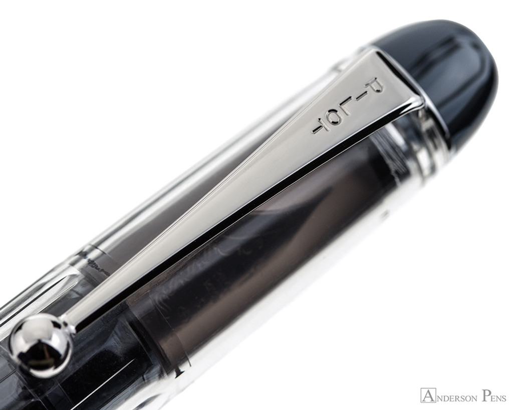 Pilot Custom 74 Fountain Pen - Clear - Clip
