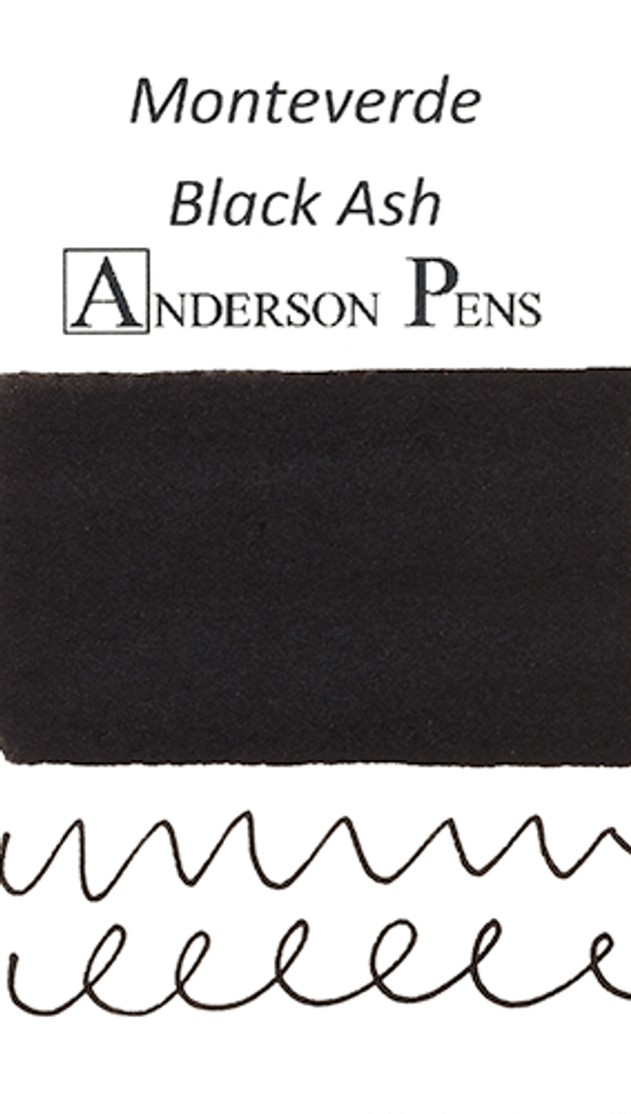 Monteverde Black Ash Ink Color Swab