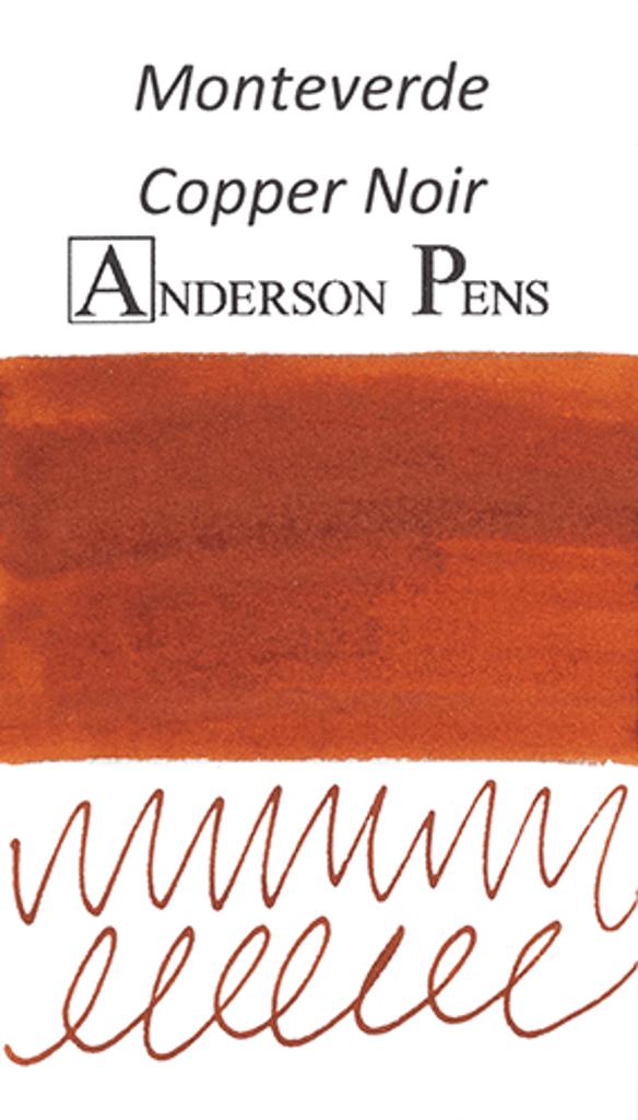 Monteverde Copper Noir Ink Color Swab