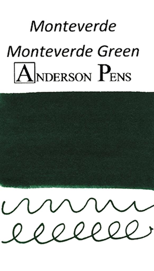 Monteverde Monteverde Green Ink Sample (3ml Vial)