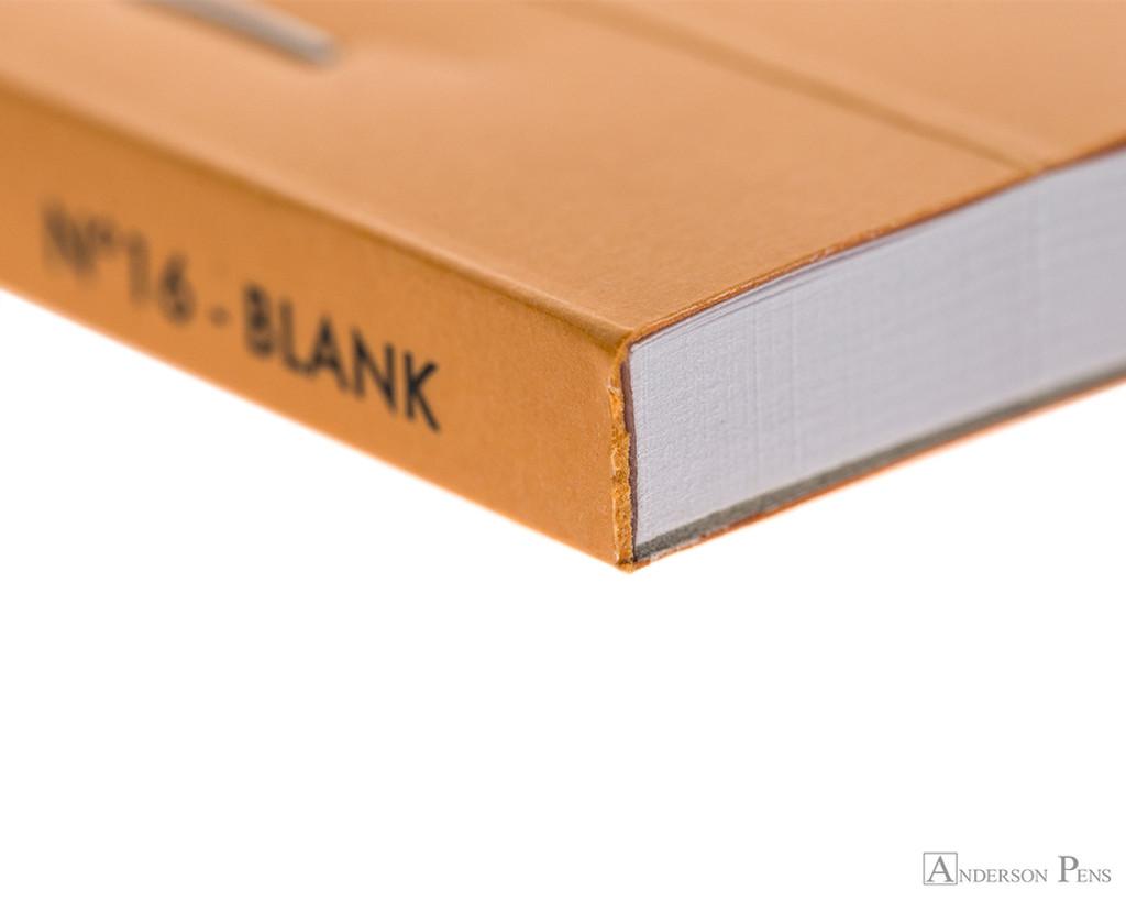 Rhodia No. 16 Staplebound Notepad - A5, Blank - Orange binding detail