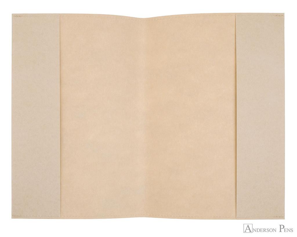 Midori MD Notebook Cover A5 - Paper - open