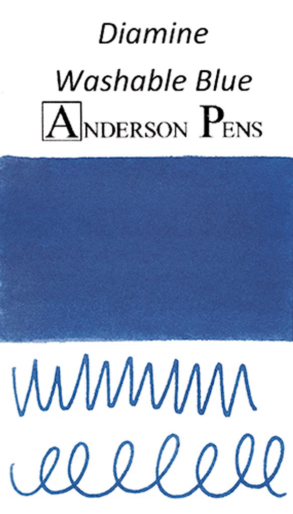 Diamine Washable Blue Ink Sample (3ml Vial)