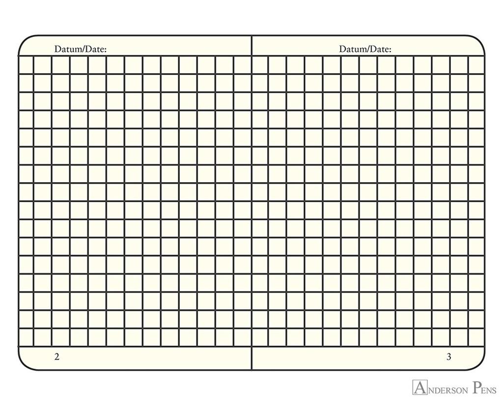 Leuchtturm1917 Notebook - A5, Graph - Lemon open