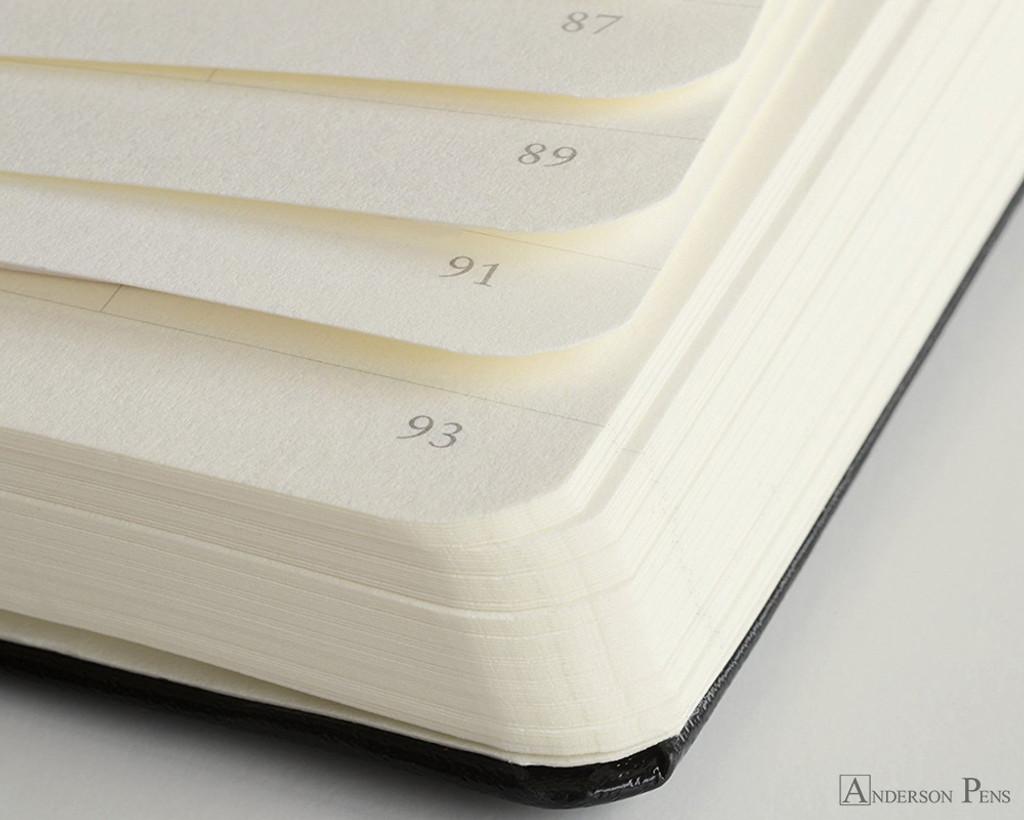 Leuchtturm1917 Notebook - A5, Graph - Lemon numbered pages