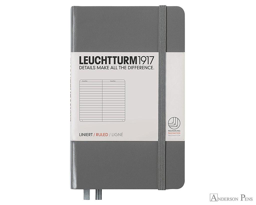 Leuchtturm1917 Notebook - A6, Lined - Anthracite