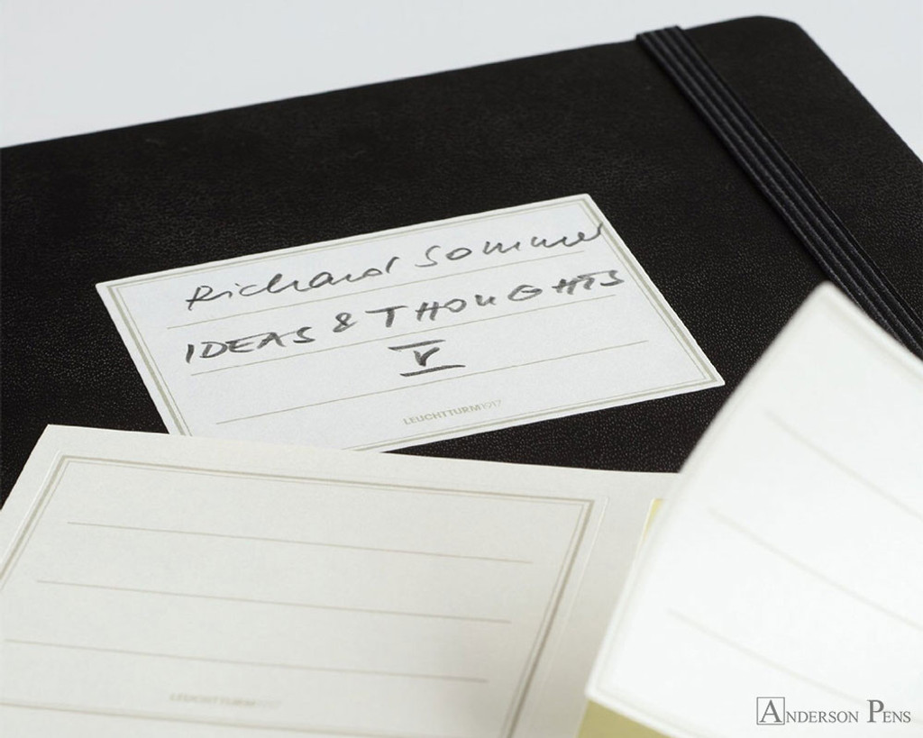 Leuchtturm1917 Master Classic Notebook - A4+, Dot Grid - Black cover