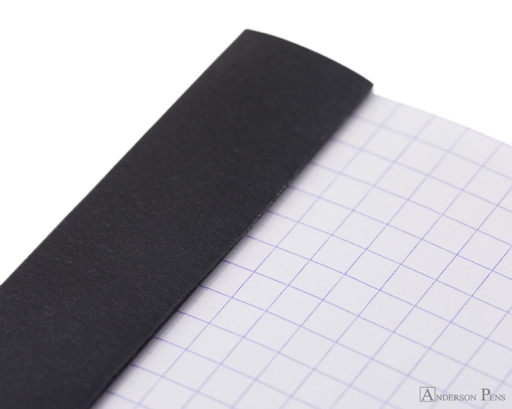 Rhodia No. 13 Staplebound Notepad - A6, Graph - Black perforations