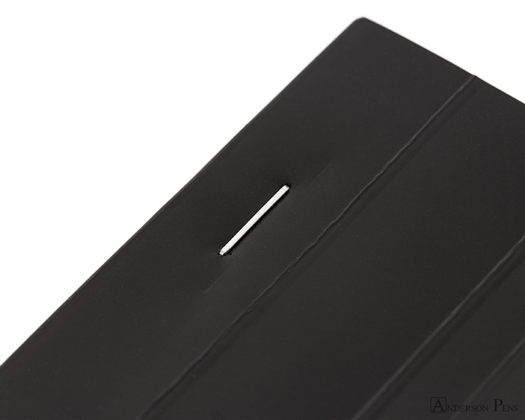 Rhodia No. 18 Staplebound Notepad - A4, Blank - Black staple detail