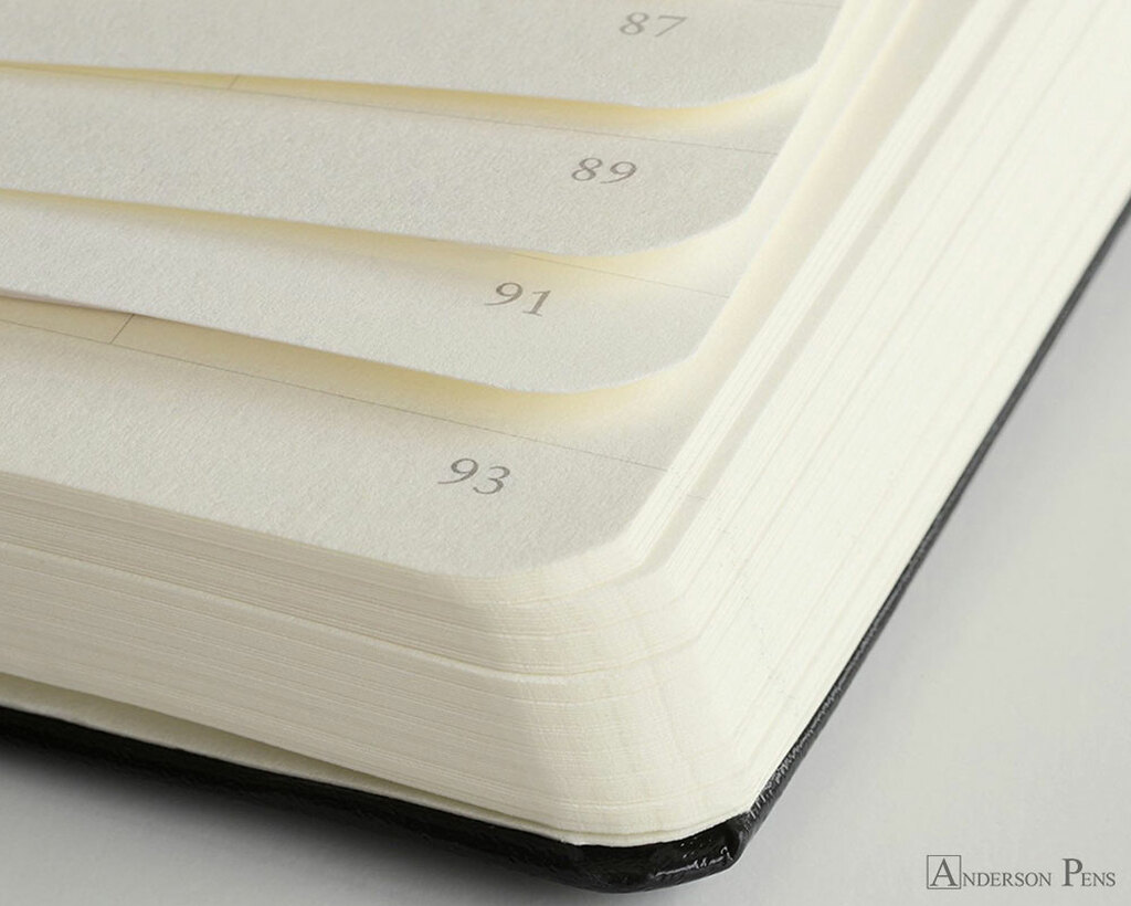 Leuchtturm1917 Notebook - A6, Dot Grid - Lemon numbered pages