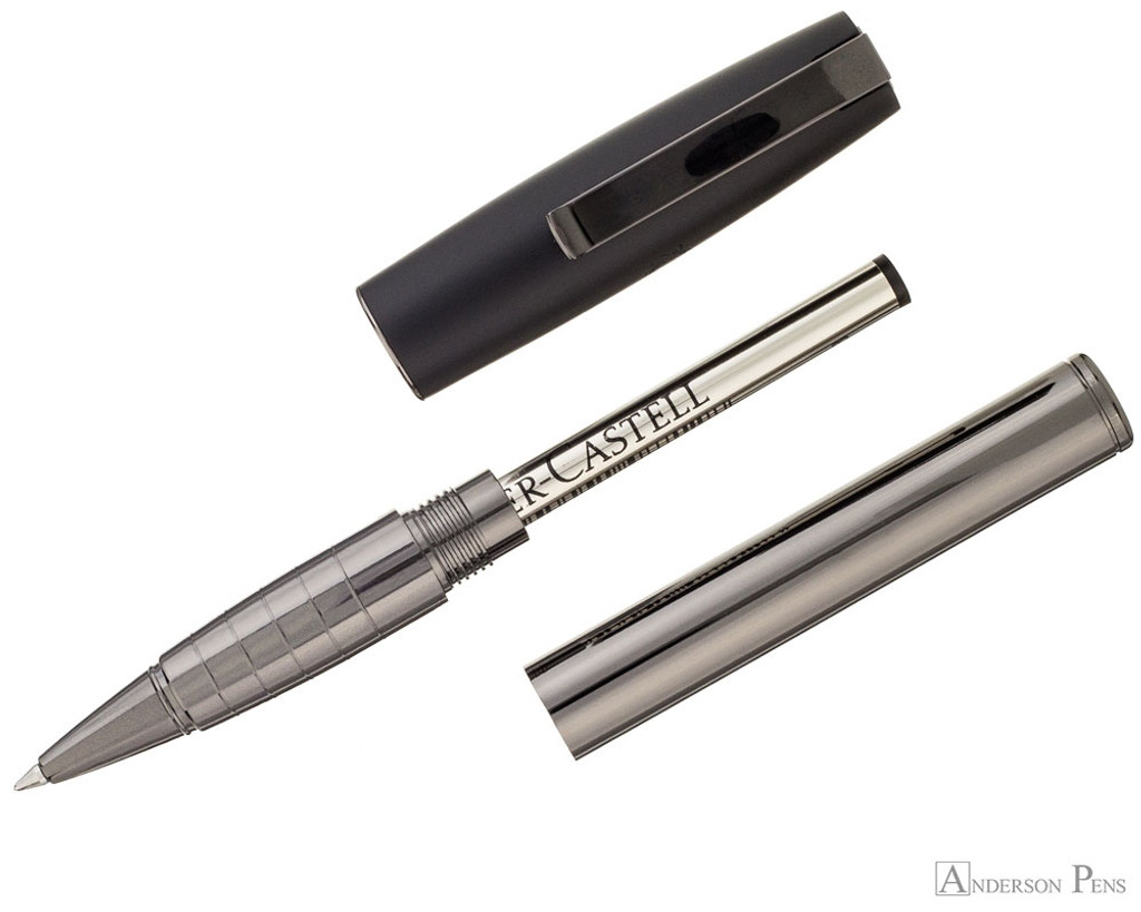 Faber-Castell Loom Rollerball - Gunmetal Polished - Parted Out