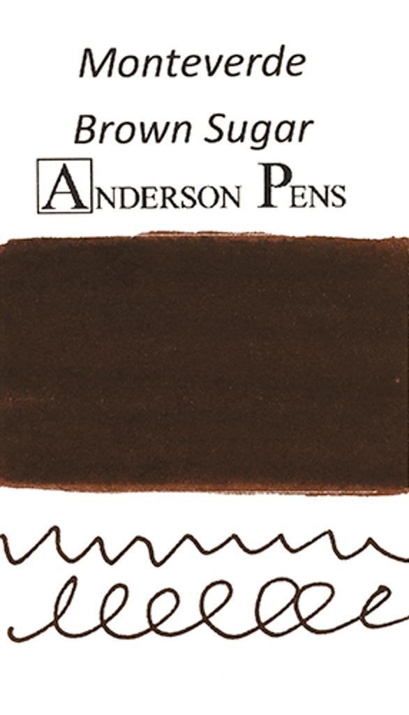 Monteverde Brown Sugar Ink Color Swab