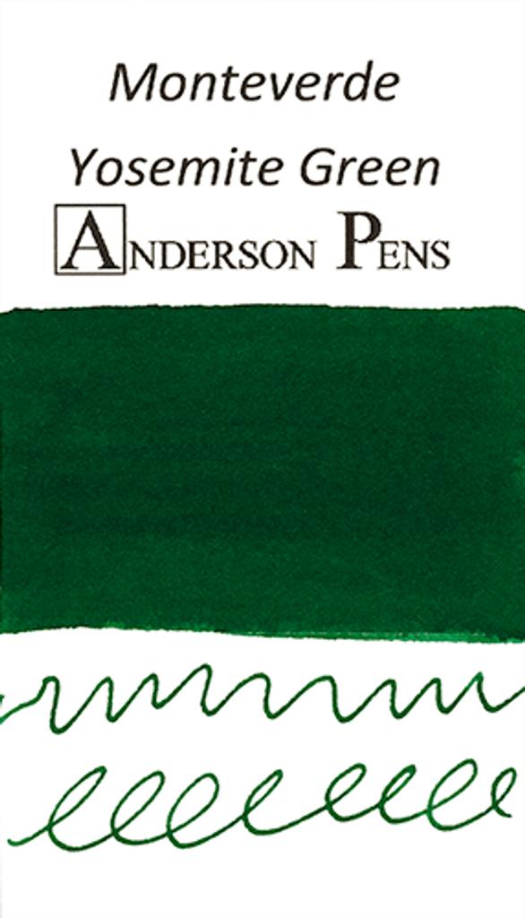 Monteverde Yosemite Green Ink Sample (3ml Vial)