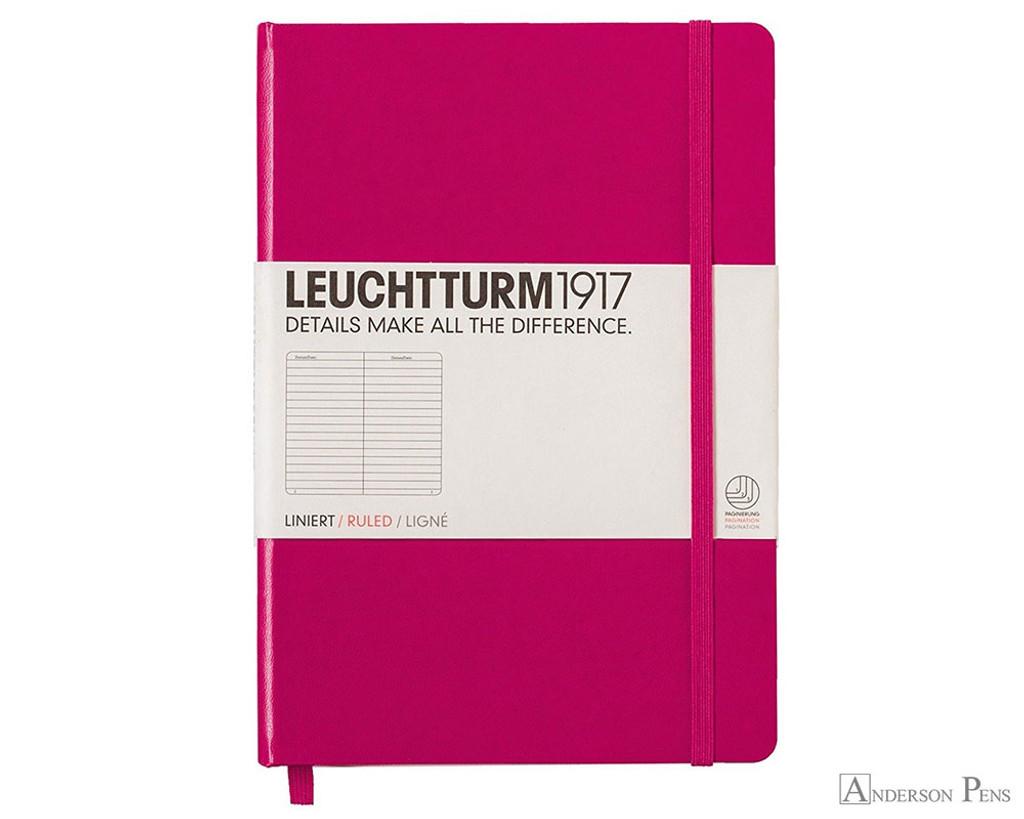 Leuchtturm1917 Notebook - A5, Lined - Berry