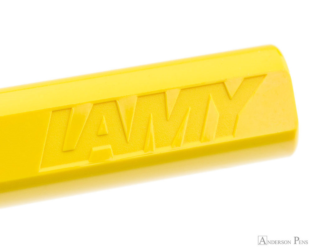 Lamy Safari Fountain Pen - Yellow - Imprint