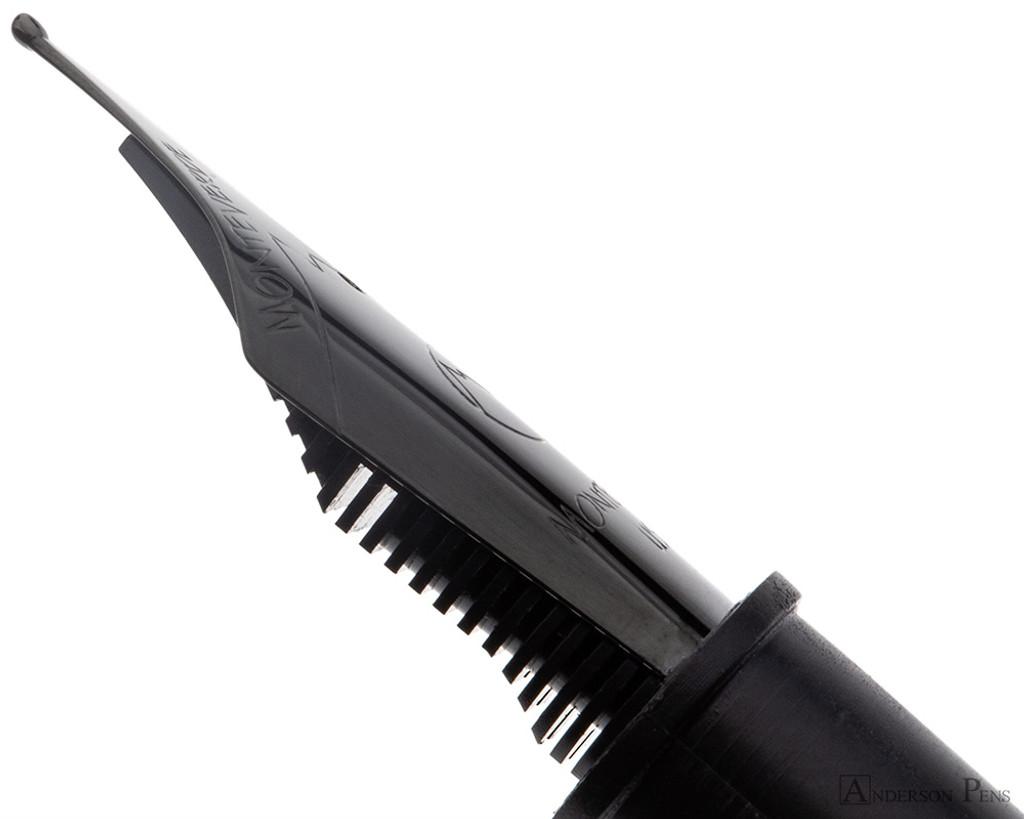 Monteverde Black Medium Nib Unit - Nib Profile
