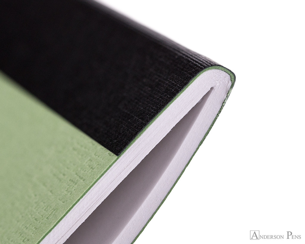 APICA CD15 Notebook - B5, Lined - Green thread binding