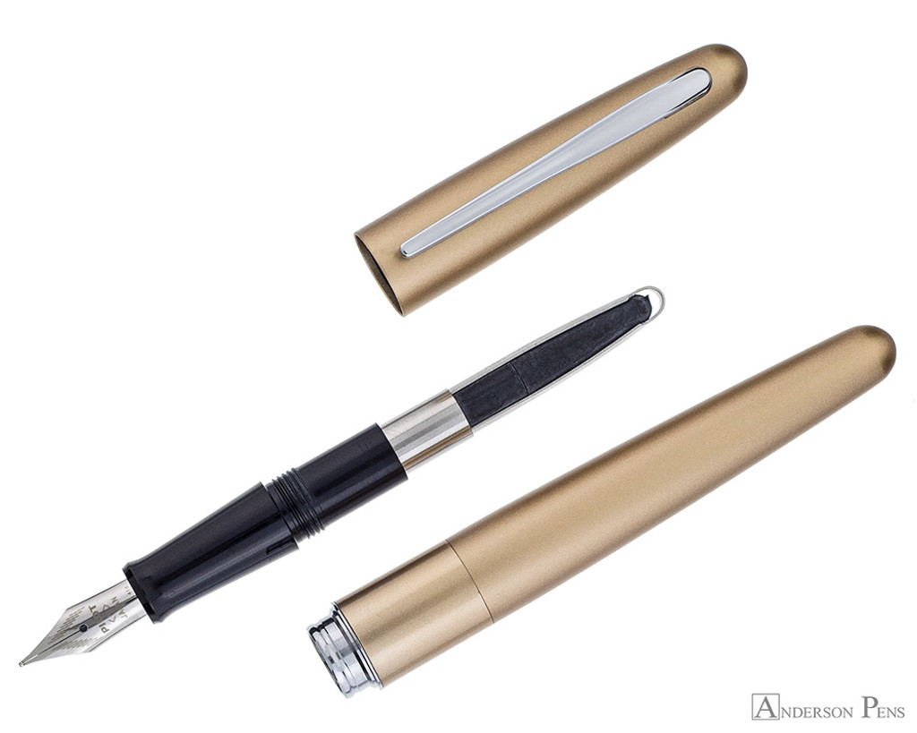 Pilot Metropolitan Fountain Pen - Gold Plain - Parted Out