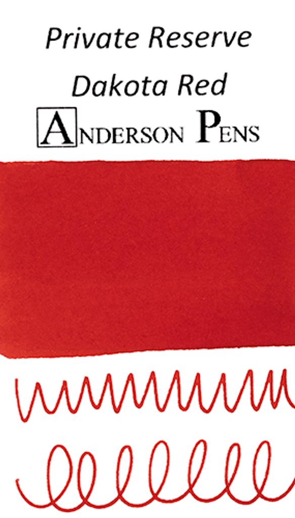 Private Reserve Dakota Red Ink Sample (3ml Vial)