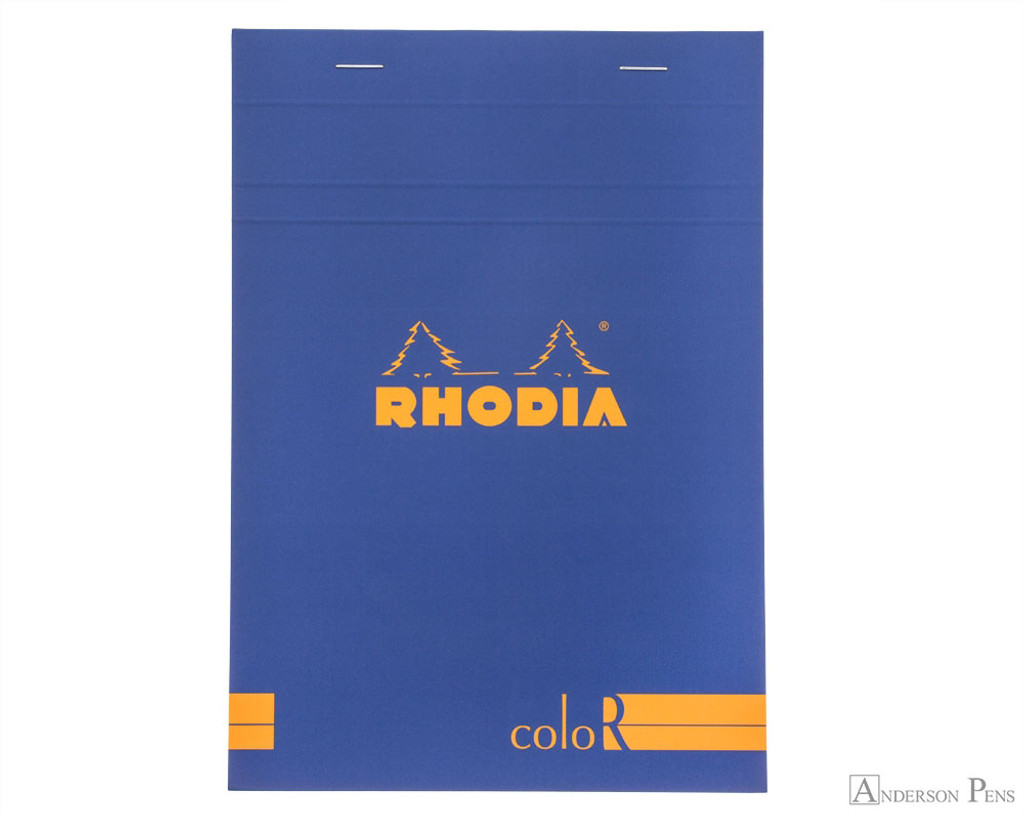 Rhodia No. 18 Premium Notepad - A4, Lined - Sapphire