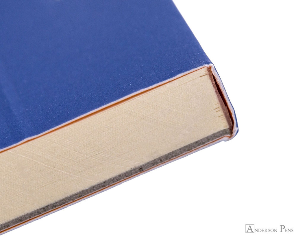 Rhodia No. 18 Premium Notepad - A4, Lined - Sapphire binding detail