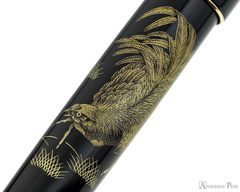 Namiki Chinkin Fountain Pen - Rooster