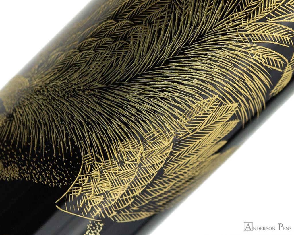 Namiki Chinkin Fountain Pen - Rooster - Pattern