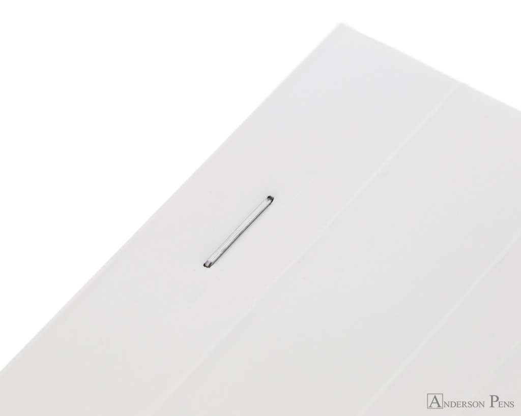 Rhodia Ice No. 16 Notepad - 6 x 8.25, Lined Paper - White - Staple Bound
