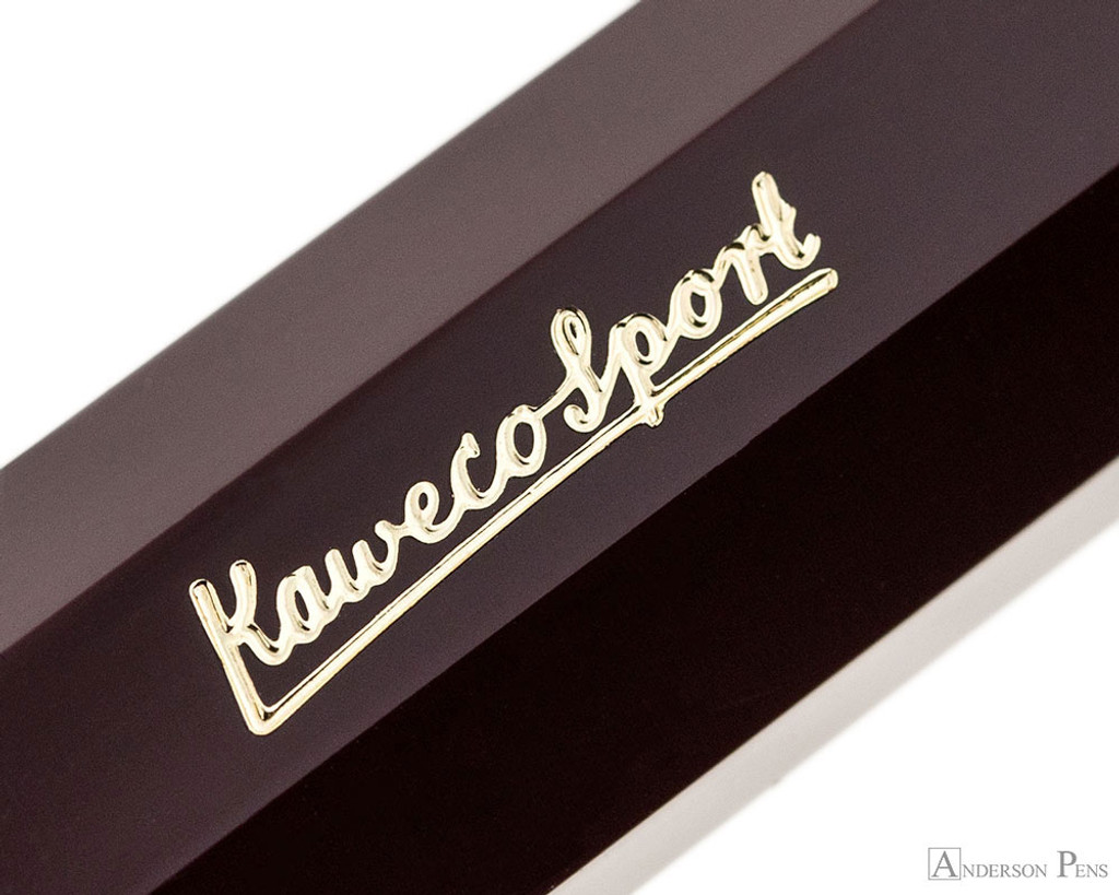 Kaweco Classic Sport Fountain Pen - Bordeaux - Imprint