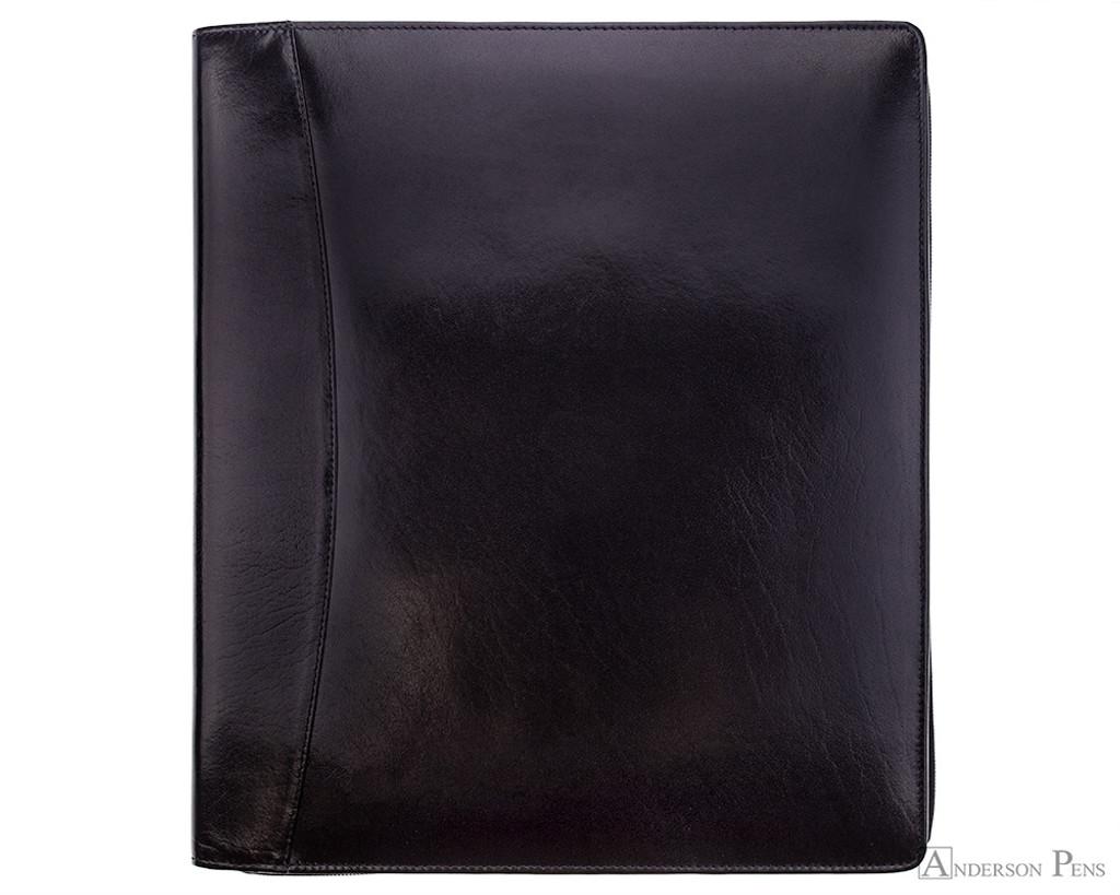 Girologio 48 Pen Case - Black Leather
