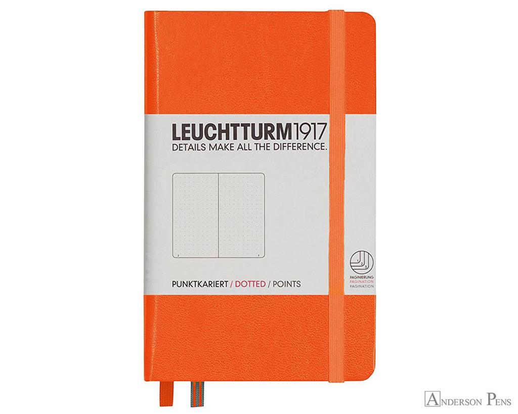 Leuchtturm1917 Notebook - A6, Dot Grid - Orange