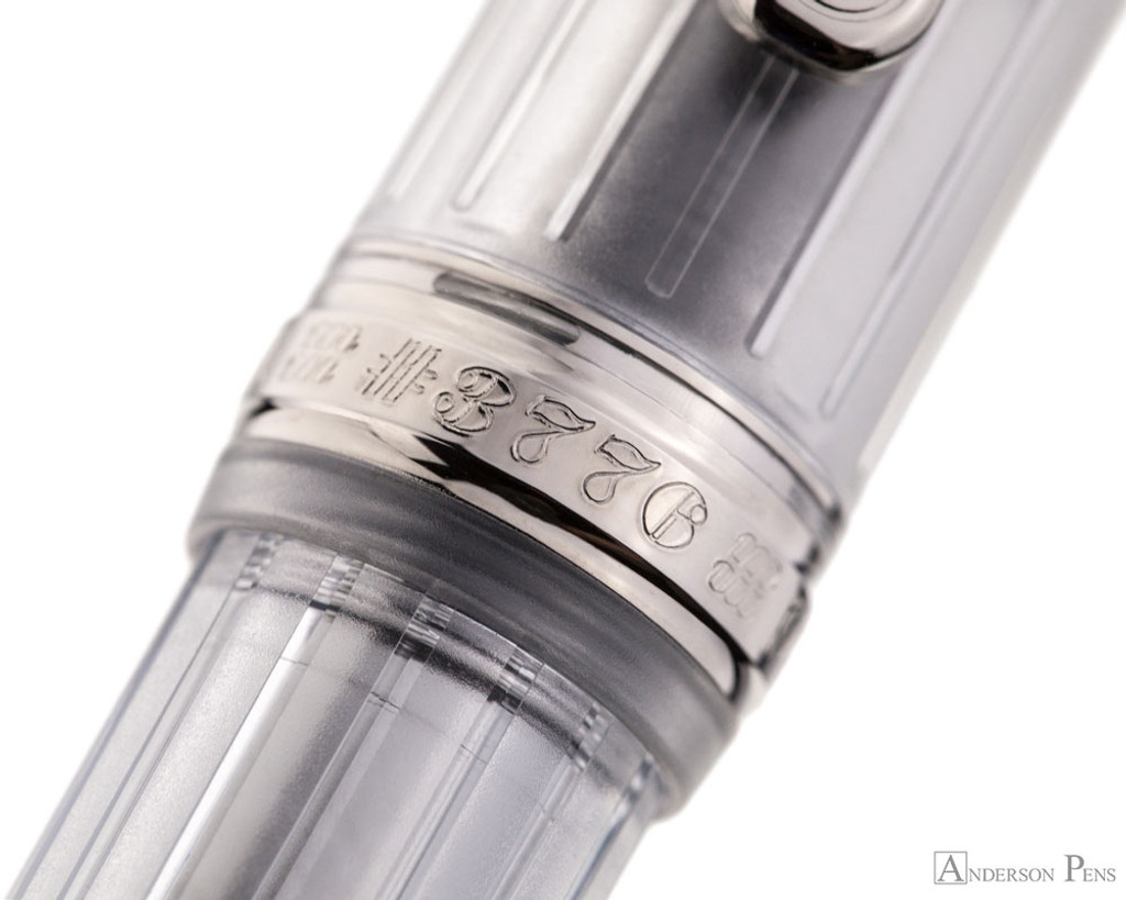 Platinum 3776 Century Fountain Pen - Nice Pur - Cap Band