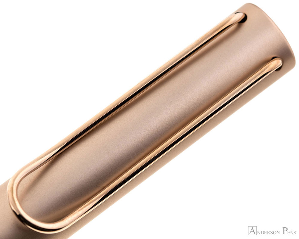 Lamy LX Fountain Pen - Rose Gold - Clip