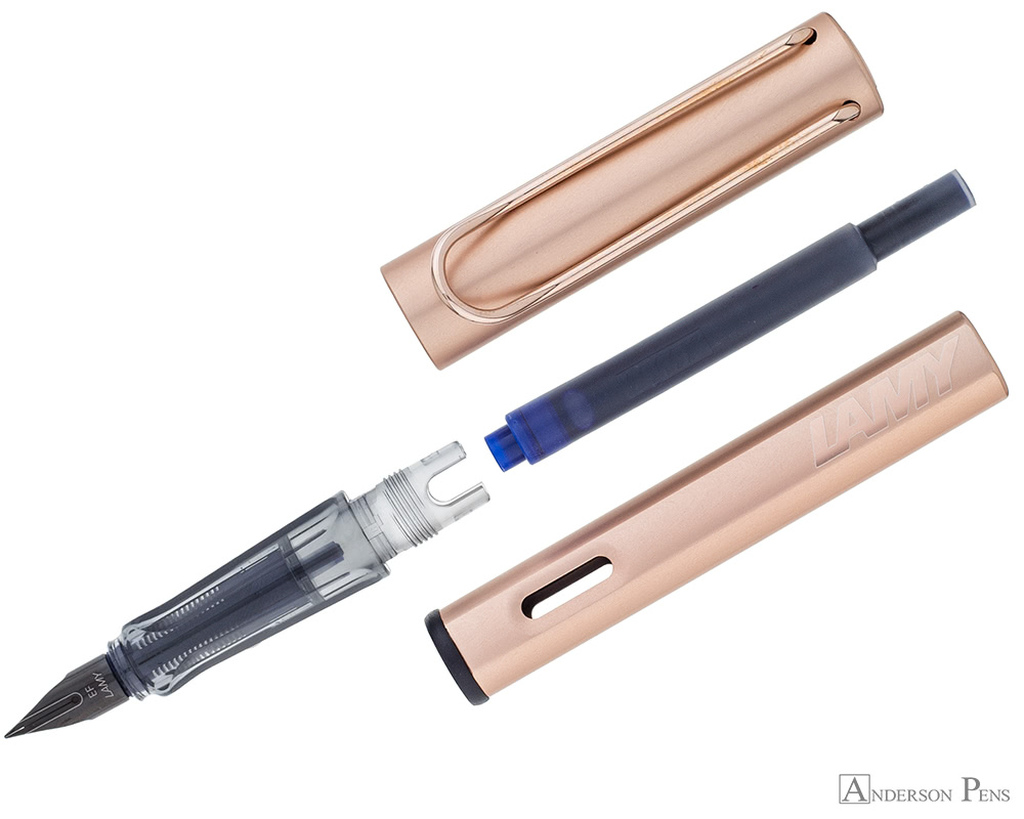 Lamy LX Fountain Pen - Rose Gold - Parted Out