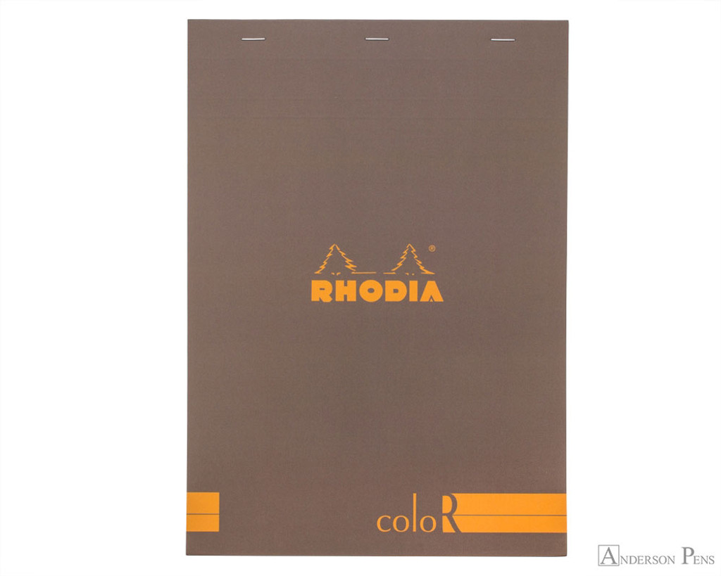 Rhodia No. 18 Premium Notepad - A4, Lined - Taupe