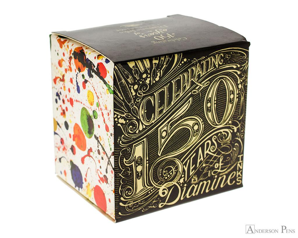 Diamine Tropical Green Ink (40ml Bottle) - Box