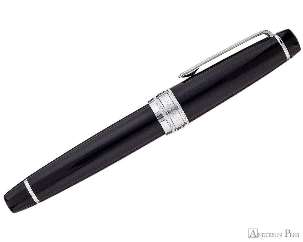 Sailor Pro Gear King of Pen Fountain Pen - Black with Rhodium Trim - Profile