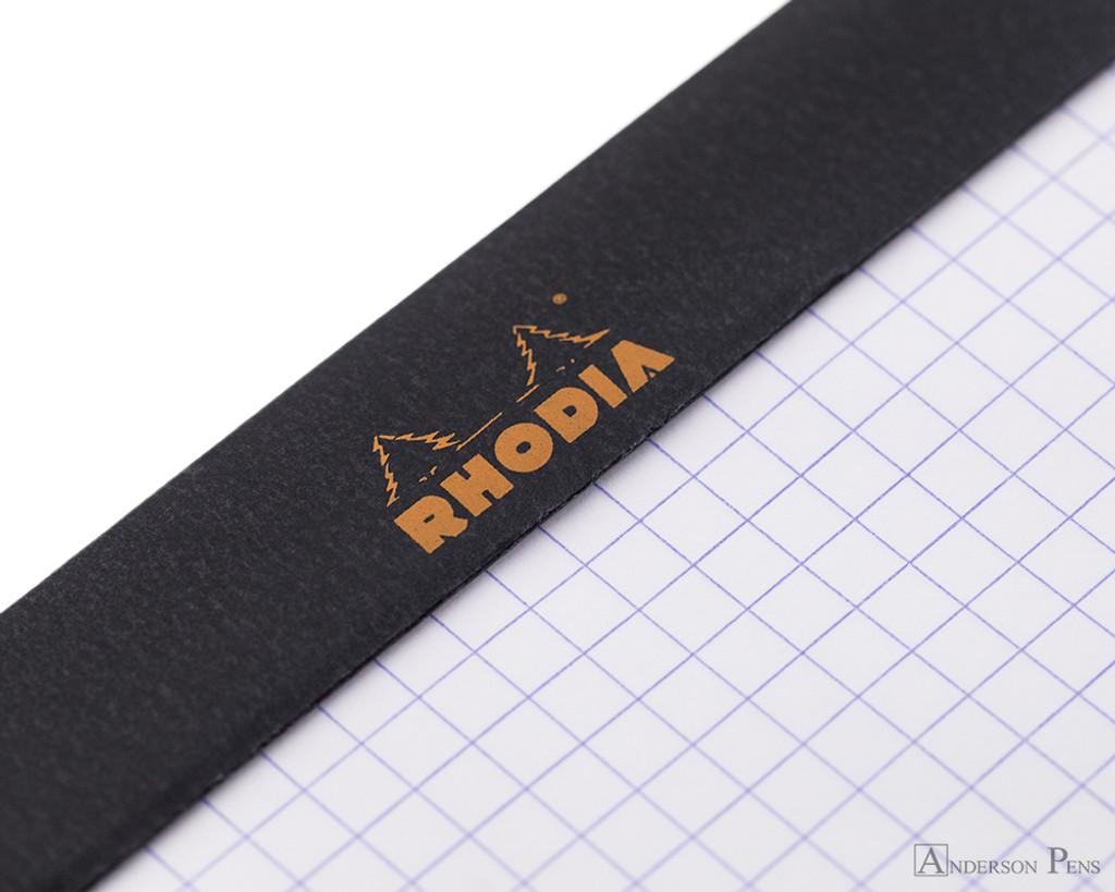 Rhodia No. 18 Staplebound Notepad - A4, Graph - Black perforations