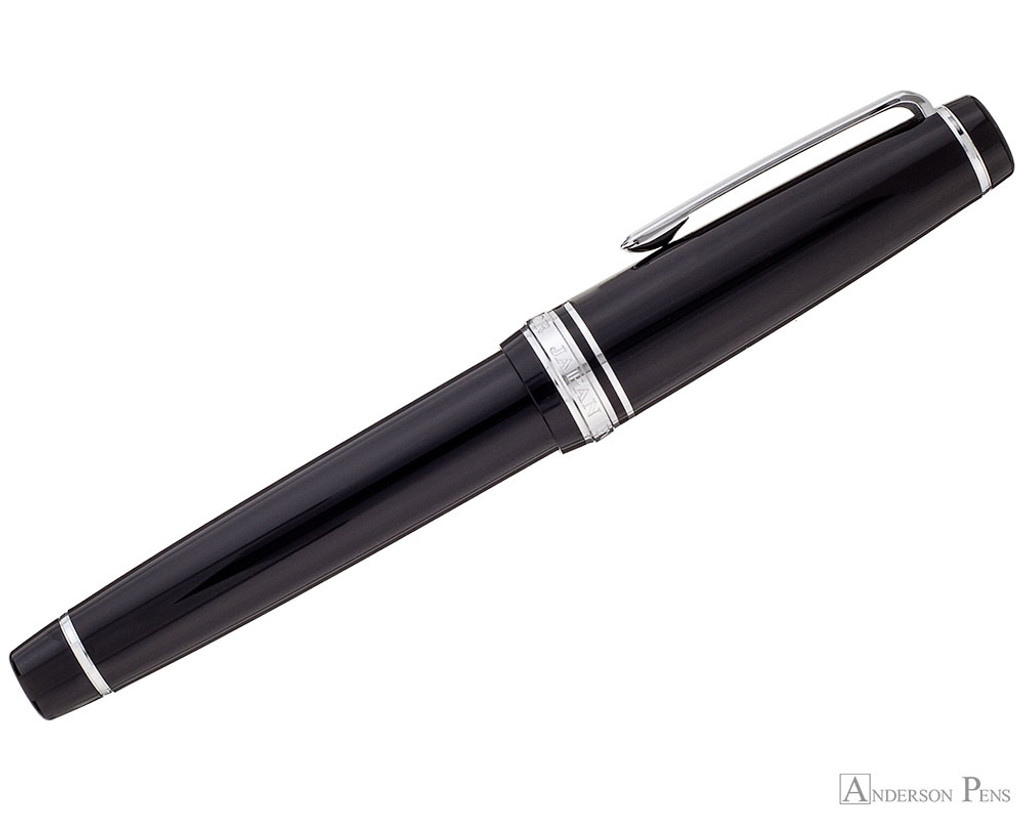 Sailor Pro Gear Fountain Pen - Black with Rhodium Trim