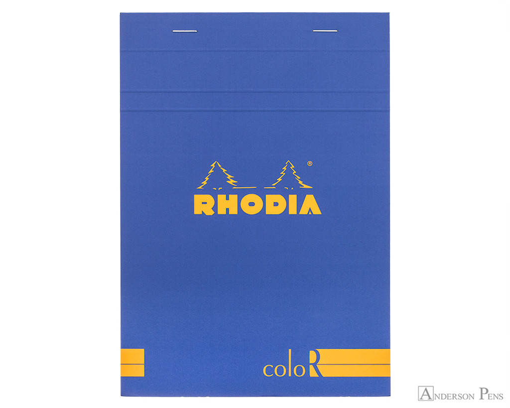 Rhodia No. 16 Premium Notepad - A5, Lined - Sapphire