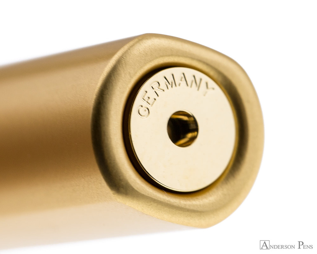 Lamy LX Fountain Pen - Gold - Barrel End