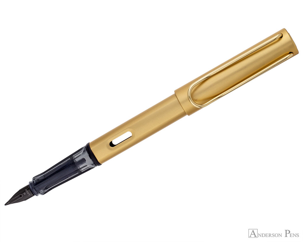 Lamy LX Fountain Pen - Gold - Posted