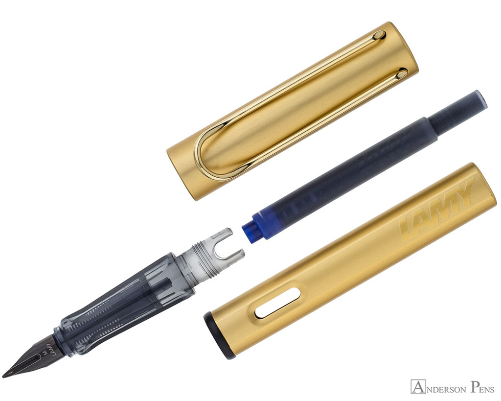 Lamy LX Fountain Pen - Gold - Parted Out