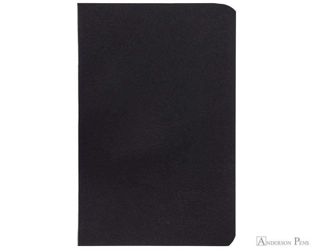 Clairefontaine Basic Staplebound Duo - 3.5 x 5.5, Lined - Black Cover