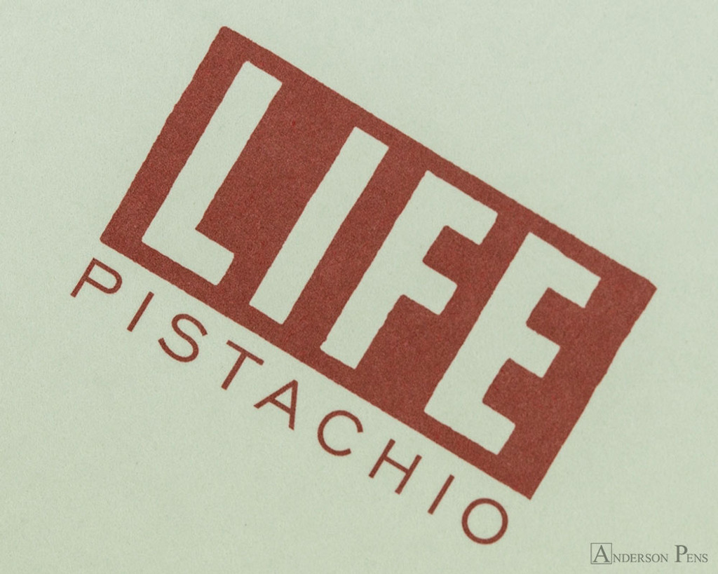Life Pistachio Notebook - A6 (4 x 6), Lined Paper - Cover